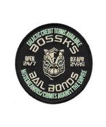 Star Wars Celebration VI Bounty Hunter Bossk's Bail Bonds Logo Patch NEW... - $7.84