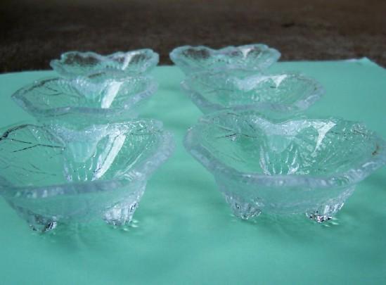 Six Grape Leaf Open Salt Celler / L.E. Smith / Price Reduction!
