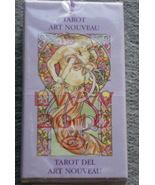 Art Nouveau Tarot Mini Deck with Instructions Wicca Pagan - $11.85