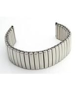 18mm Expanding WATCH STRAP Band Stainless Steel Elastic Bracelet Mens La... - $11.10