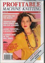 Profitable Machine Knitting Aug 1991 Magazine UK Patterns Articles to Ma... - $5.99