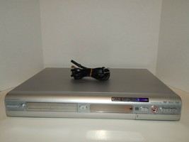 Philips Silver DVD Player / DVD Recorder i.Link DVDR615/17 Tested & Working - $56.06