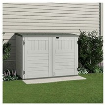 Suncast BMS4700 The Stow-Away Horizontal Storage Shed, (70-cubic Feet) - $750.18