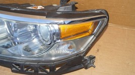 07-09 Lincoln Zephyr 06 MKZ HID Xenon Headlight Driver Left LH - POLISHED image 2