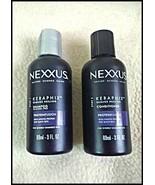 Set of NEXXUS Keraphix Shampoo & Conditioner heals damaged hair 3 oz ea ... - $12.82