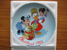 Limited Edition #3470 Disney 1983 collectors plate Scroooge's Christmas Surprise - $35.00