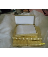 Necklace & Earring Boxes,   Gold  ( 6 ) - $9.95