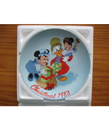Limited Edition #4047 Disney Christmas 1983 collectors plate Scroooge's ... - $35.00