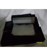 Pendant or Charm Boxes Shiny Black ( 6 ) - $6.25