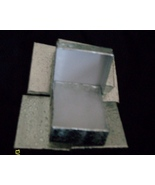 Pendant or Charm Boxes,  Silver ( 6 ) - $6.25