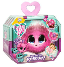 NEW! SCRUFF-A-LUVS - *PINK* Puppy, Kitten, or Bunny - Little Live Pets 2018 - $29.99