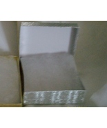 Necklace & Earring Boxes,   Silver  ( 6 ) - $8.95