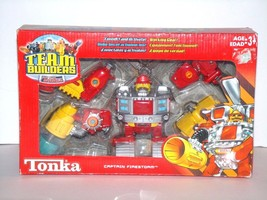 Hasbro Tonka Team Builders Captain Firestorm NEW Sealed  - $19.59