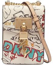 DKNY Elissa Pebbled Charm Chain Strap Crossbody - $223.44