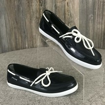 "Cole Haan ""Nantucket Camp"" Navy Moccasin Boat Shoes Womens Size 7B Style... - $20.94"