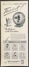 1947 Vornado Fan Print Ad OA Sutton Corp Wichita Kansas - $11.69