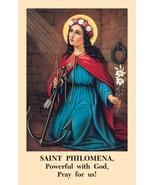 Saint Philomena Novena Prayer Card (Pack of 100) - $13.95