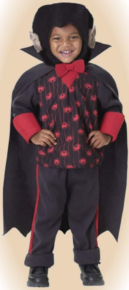 Universal DRACULA COUNT CUTIE Cape-TODDLER 2-4-INFANT