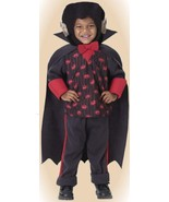 Universal DRACULA COUNT CUTIE Cape-TODDLER 2-4-INFANT - $14.19