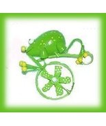 Set of 4 Bug on Bicycles Kitchen Refrigerator Magnets - $4.99