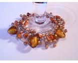 Bracelet gold pearl azure glass gemstone chips thumb155 crop