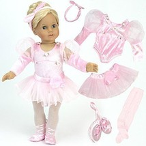 Dolls For Girls American Girl Doll Ballet Set 18 Inch For Birthday Gift ... - $31.11