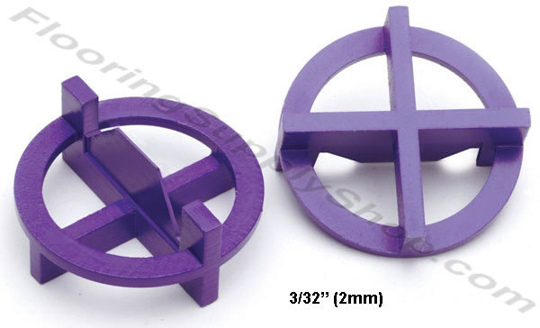 "Primary image for TAVY Tile and Stone Cross Spacers 3/32"" - 2mm Pack of 100"