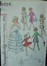 "Original Sewing Pattern for 12"" Tammy Cut & Complete 5214 - $5.00"