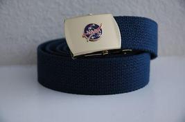 USAF NASA Blue Belt & Buckle  - $14.99