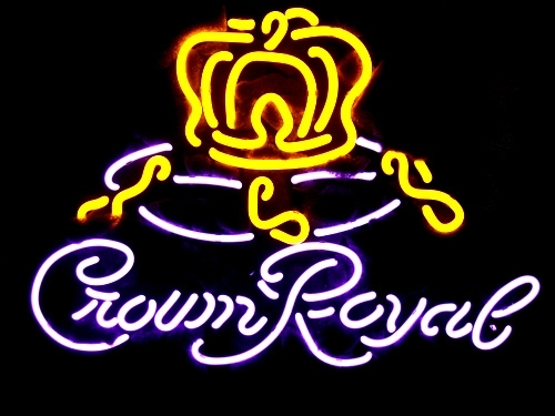 "Crown Royal Beer Bar Neon Light Sign 16\"" x 14\"" - Neon"