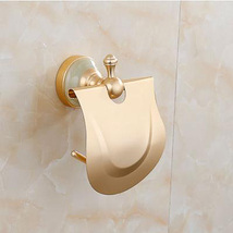 Gold Antique Aluminum Toilet Paper holder Tissu... - $14.89