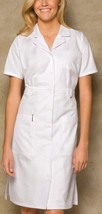 Nwt Dickies Knopfverschluss Weiß Sexy Krankenschwester Halloween Kostüm ... - $34.86