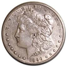 1896S MORGAN SILVER $1 DOLLAR Coin Lot# MZ 4629