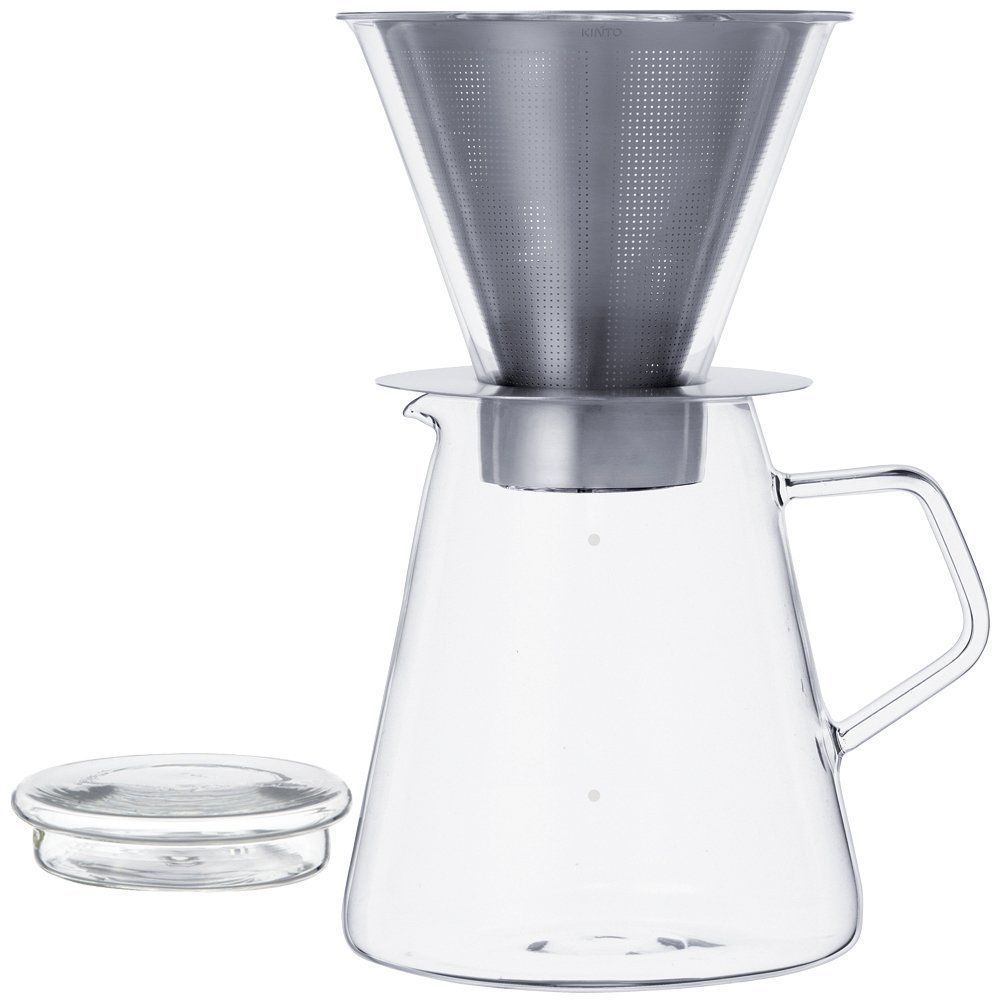 700 ml Carat Coffee Dripper and Pot with Lid by Kinto