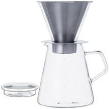 700 ml Carat Coffee Dripper and Pot with Lid by Kinto - $56.42