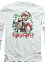 Santa Claus is Comin to Town Retro 70's Christmas TV Special long sleeve DRM130 image 3