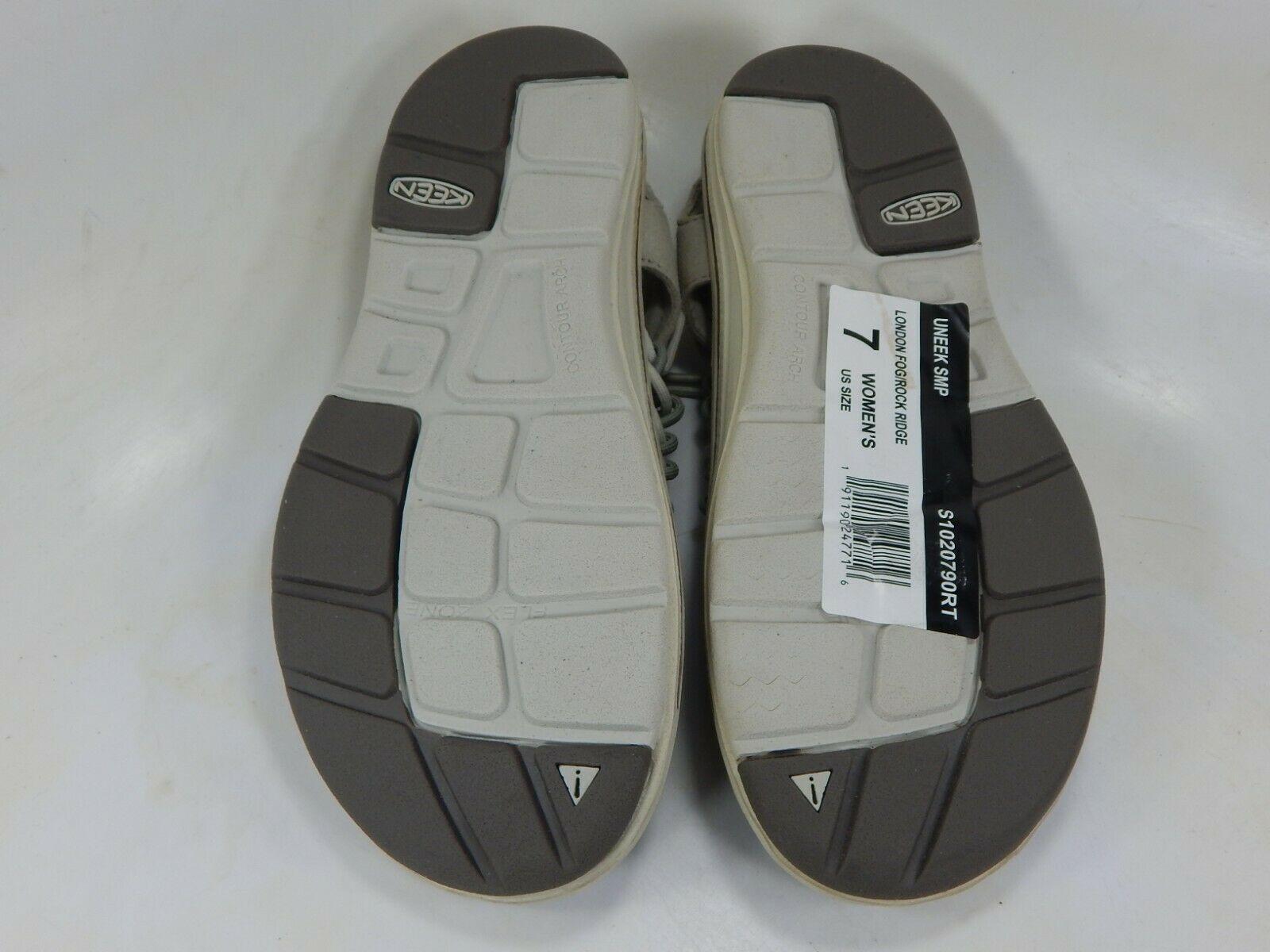 Keen Uneek Größe 7 M (B) Eu 37,5 Damen Sport Sandalen Schuhe London Nebel