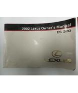 ES300     2002 Owners Manual 204357 - $24.75