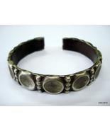vintage antique tribal old silver bracelet bangle cuff for teen girls gift - $235.62
