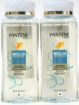 2 Ct Pantene Pro-V 20.1 Oz Micellar Revitalize Gentle Purify & Nourish Shampoo - $27.99