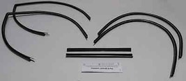 1963-1964 CHEVY FULL SIZE 2 DOOR SEDAN UPPER CHANNEL WEATHERSTRIP KIT (6... - $144.89