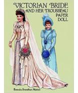 1994 Victorian Bride & Trousseau Paper Dolls - $7.95