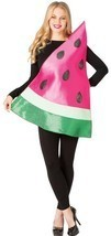 Watermelon Slice Womens Costume Adult Fruit Food Red Halloween Unique GC... - €47,05 EUR
