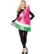 Watermelon Slice Womens Costume Adult Fruit Food Red Halloween Unique GC... - ₹3,794.61 INR