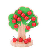 Wooden Magnetic Apple Tree Math Toys - £19.68 GBP