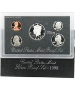 1998-S 90% Silver Proof Set United States Mint Original Government Packa... - $31.69
