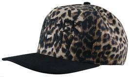 Another Enemy Unisex Safari Leopard Print Adjustable Snapback Baseball Hat NWT image 2