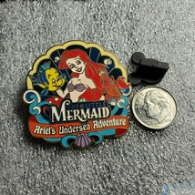 Disney Pin The Little Mermaid Travel Agent Ariel's Undersea Adventure PB01 073 - $14.50