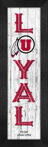 "Utah Utes ""Loyal"" - 8x24 Wood-Textured Look Framed Print - $39.95"