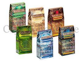 Basilur Ceylon Tea 100g Packet - MagicNights, MasalaChai, MoroccanMint, Etc - $11.54